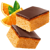 Fitbakes Jaffa Orange, low fat high protein cake