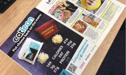 WW magazine open displaying an Eatlean full page advert