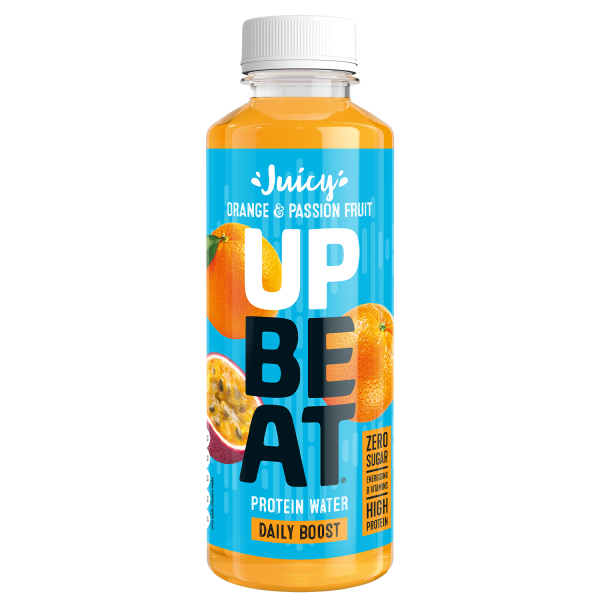 Upbeat Protein Water Orange and Passionfruit