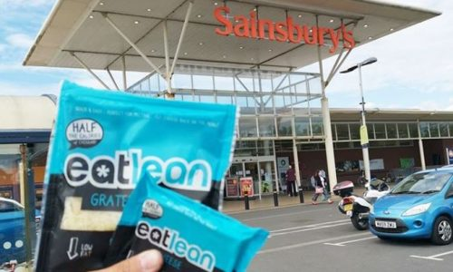 eatlean low fat high protein cheese launches in Sainsburys