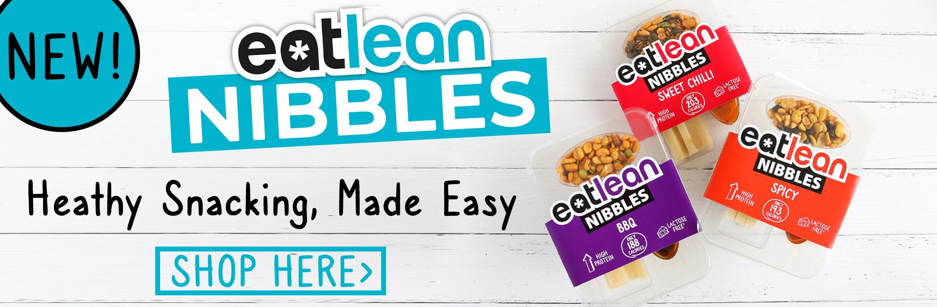 Eatlean Nibbles, healthy cheese snack pack
