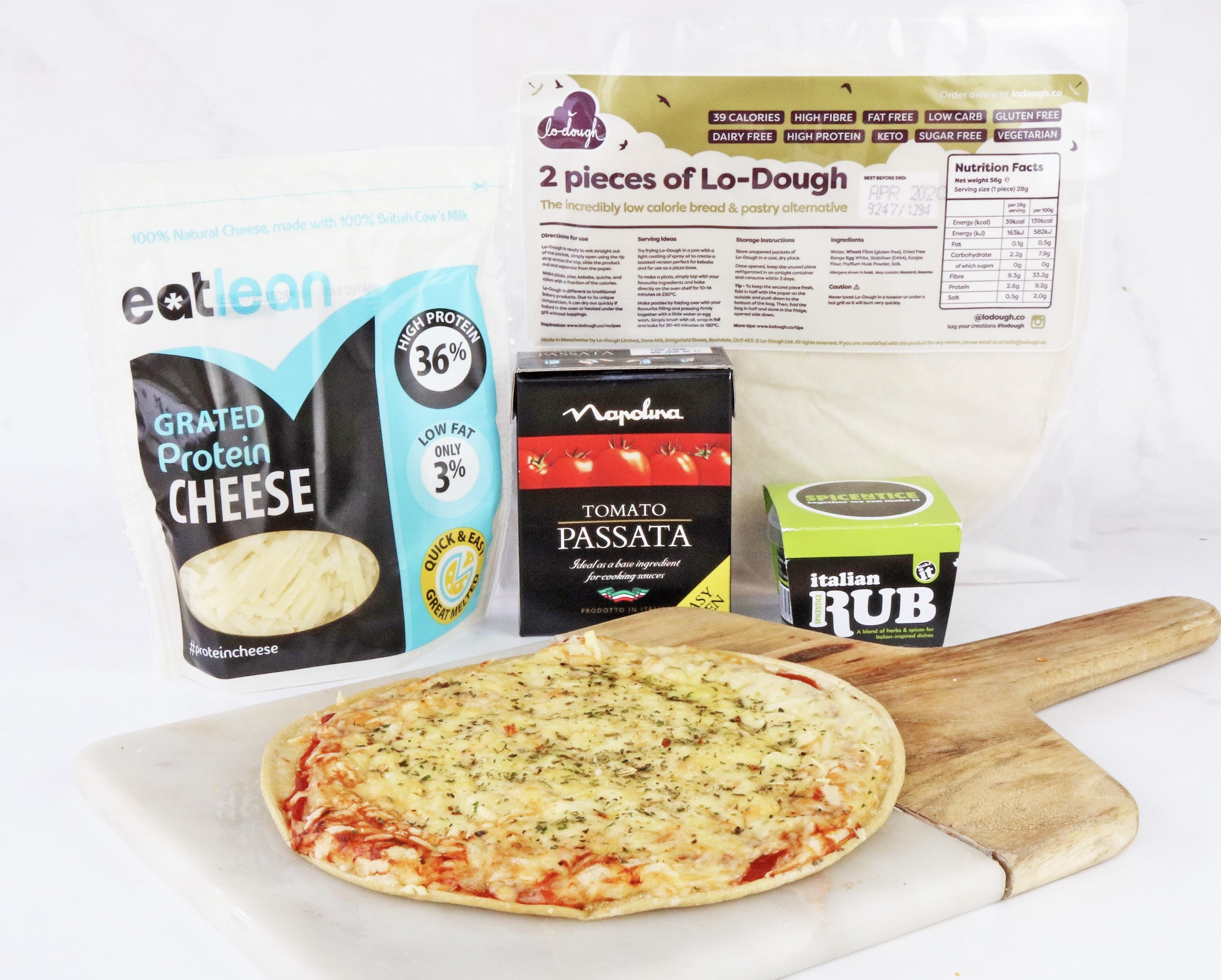 Low Calorie Pizza Kit 4 Pack