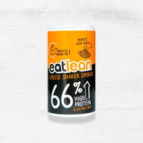 eatlean high protein smoked cheese shaker