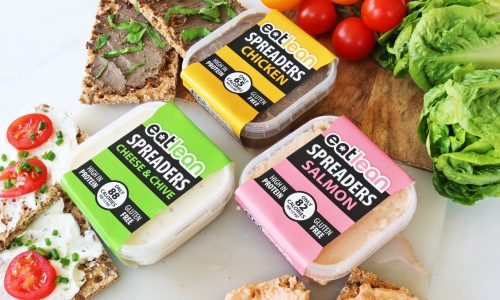 Low fat, low calorie, high protein spreads, s