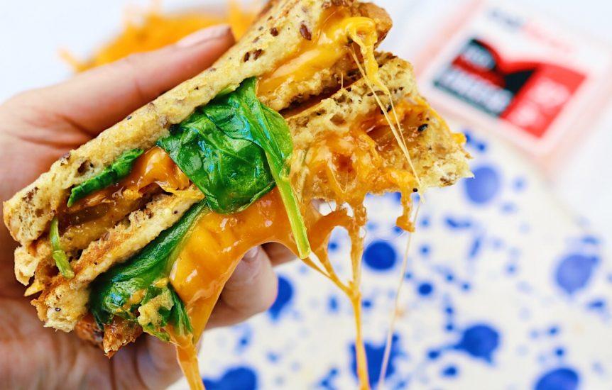 Low fat, low calorie, high protein, cheese sandwich, vegetarian, gluten free sandwich, gluten free cheese, gluten free. cheesy bread