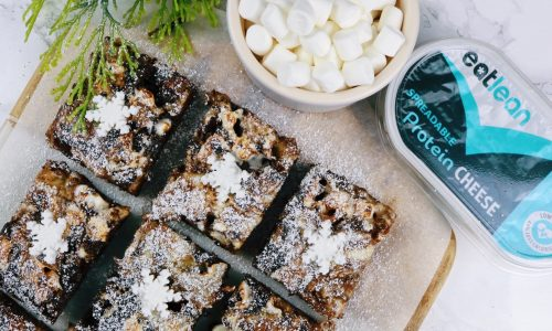 Christmas brownies low fat, low carb, low calorie, high protein