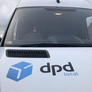 Dean steals the DPD van full of Eatlean protein cheese orders