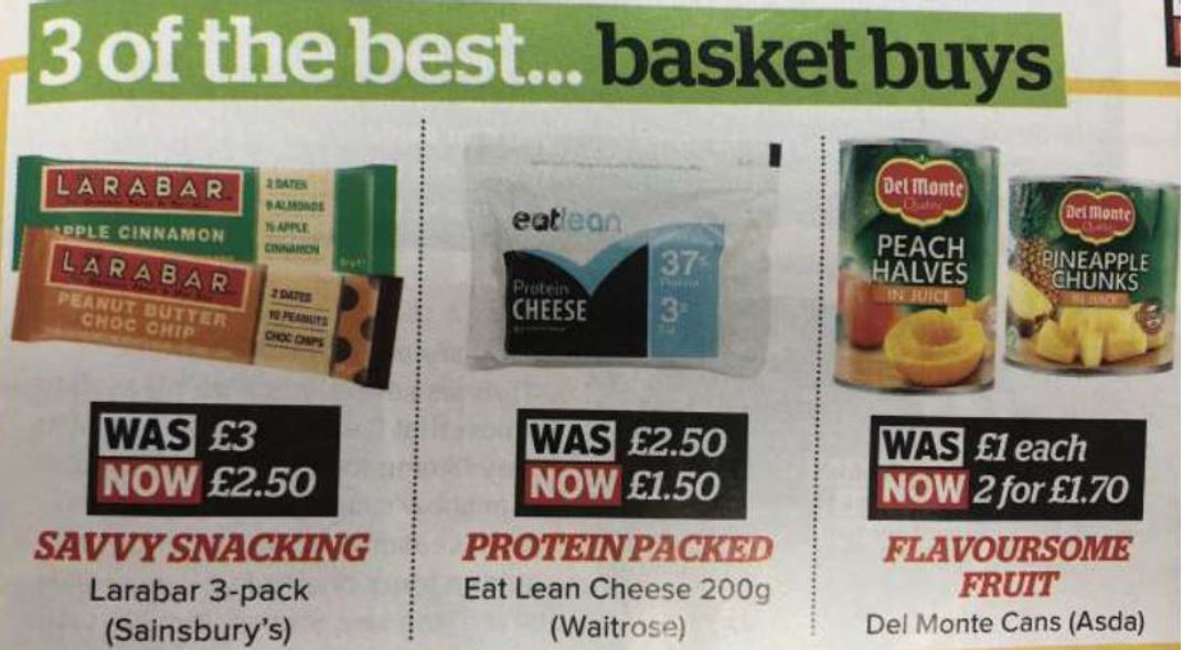 womans own 3 of the best basket buys featuring eatlean 200 gram
