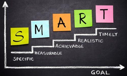 SMART goal setting table