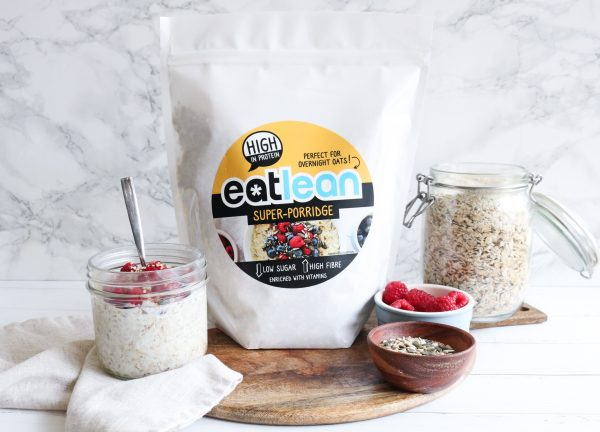 Eatlean super porridge with overnight oats