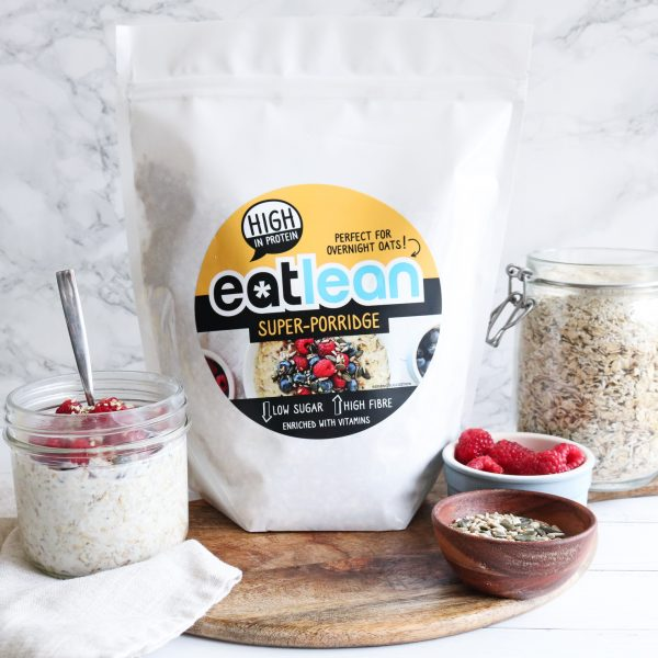 Eatlean super porridge with overnight oats