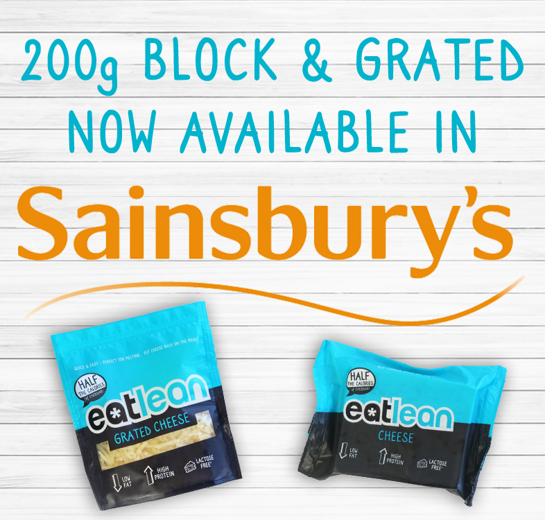Eatlean Cheese Launches In Sainsbury's