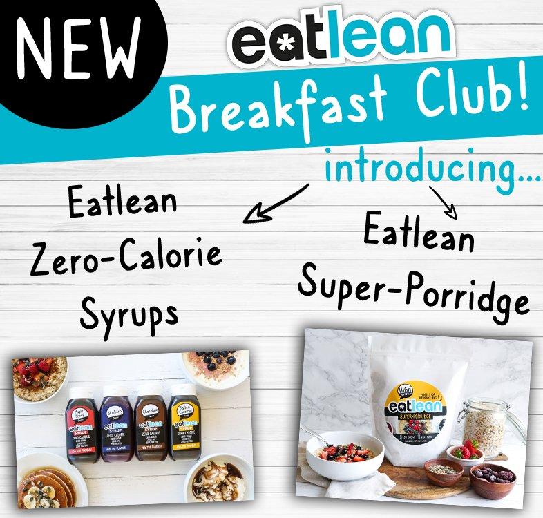 Eatlean Syrups and porridge launch