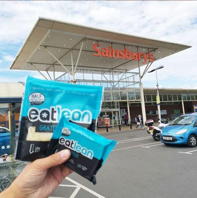 eatlean cheese launches in sainsburys