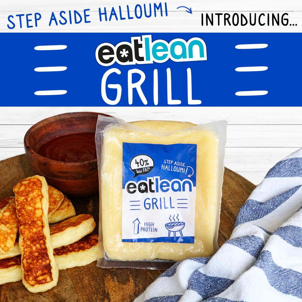 Eatlean launches new halloumi style cheese eatlean grill