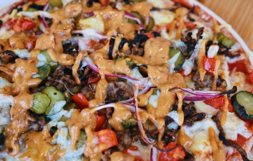 Fakeaway Dominos Cheeseburger Pizza
