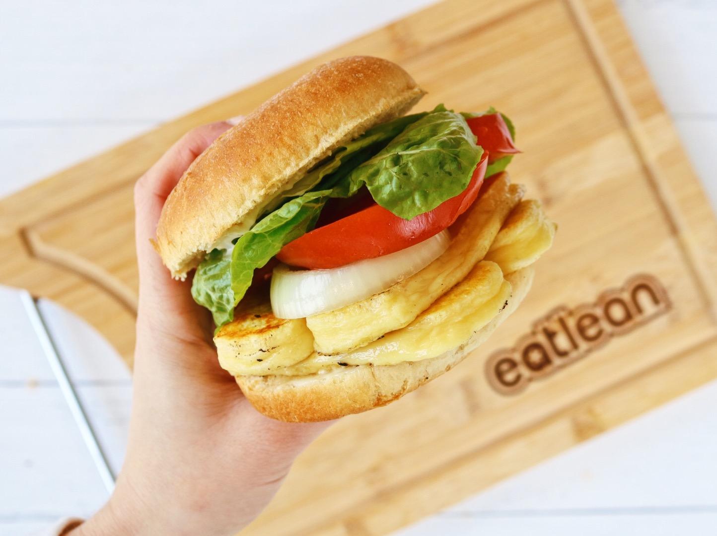 Fakeaway halloumi king burger