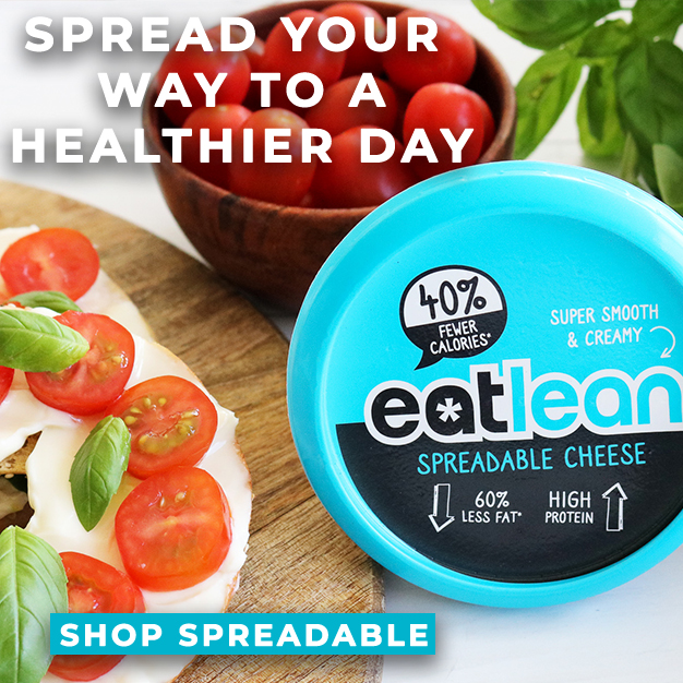 Eatlean Spreadable low fat high protein cheese