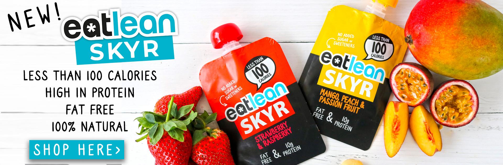 Eatlean Skyr high in protein fat free low calorie skyr