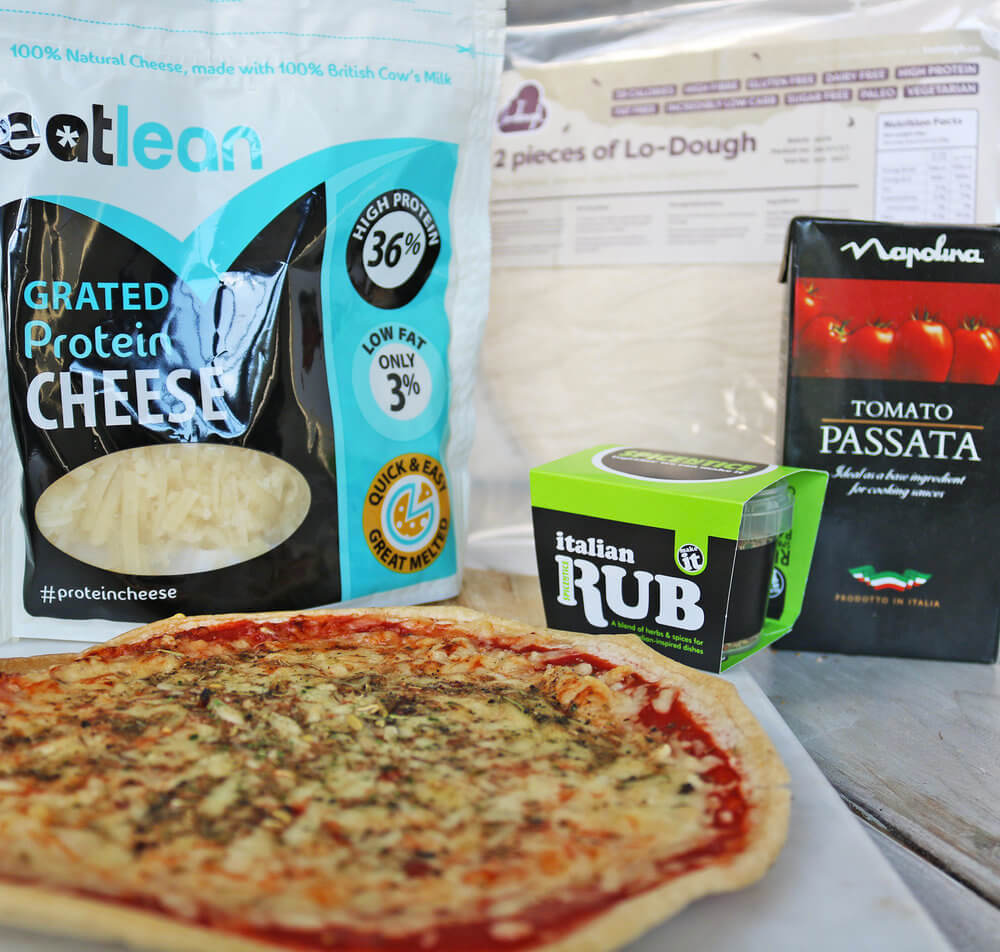 Low Carb, Low Calorie Pizza Kit (4 Pack)